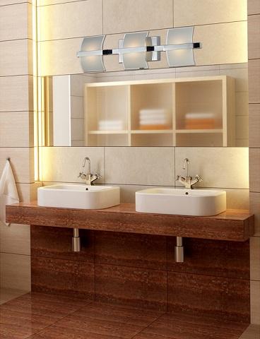 Epsom Bathbar in Chrome 81032-2 from Elk Lighting