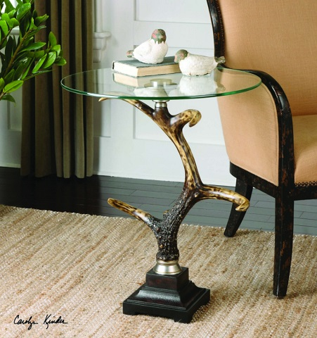 Stag Horn Accent Table 24430 from Uttermost