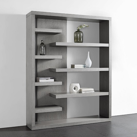 Enzo Bookshelf DI1411-GRY from Whiteline Imports