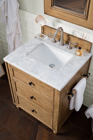 """Copper Cove 26"""" Single Vanity Cabinet in Driftwood Patina from James Martin Furniture"""