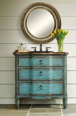 Dress Up Your Small Bathroom With Vanities That Feel Like ...