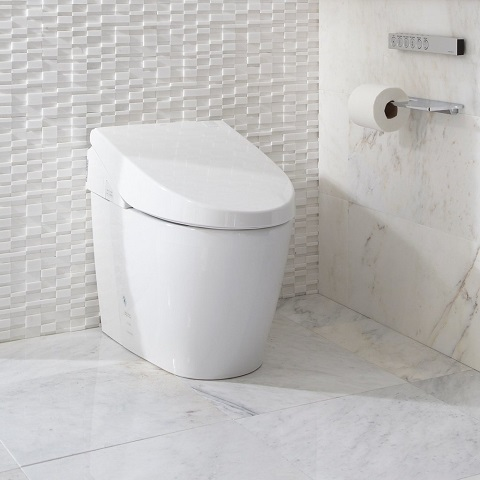 Dual Flush Toilet, MS982CUMG#01 by Toto