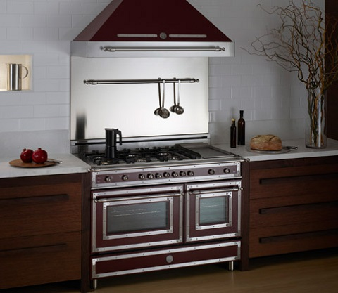 Heritage Series 6-Burner Gas Double Oven from Bertazzoni