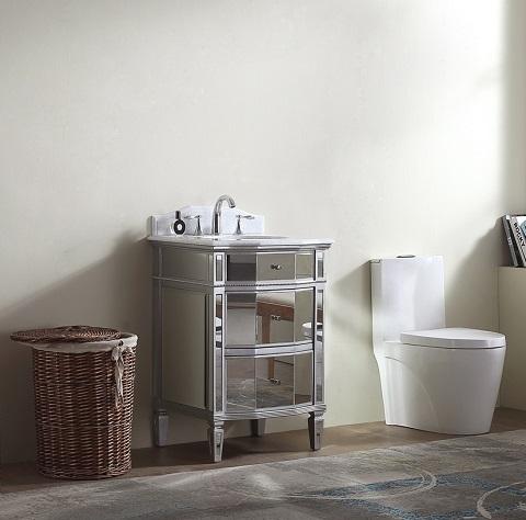 "Palazzo 24"" Single Bathroom Vanity MOD006-24 from Modetti"