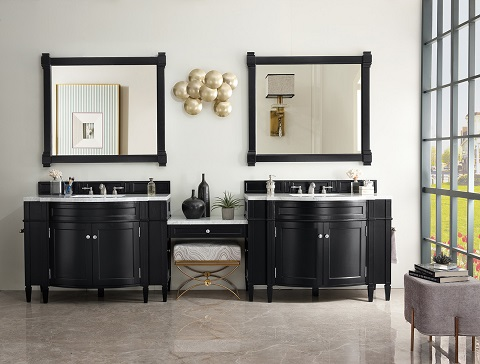 Hot New Trend For 2018 Bathroom Vanities With Built In Makeup Tables