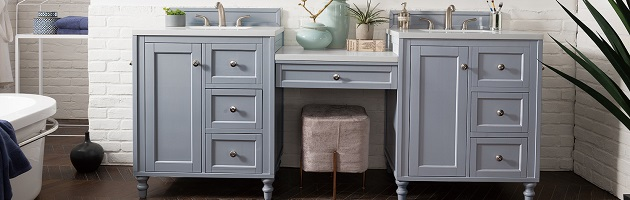 Bathroom Vanities With Built In Makeup