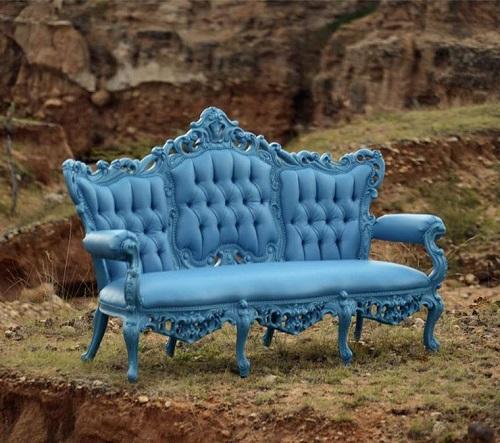 Baroque-Inspired Sofa 611aj from Polart Designs