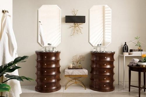"Cairns 24.5"" Single Bathroom Vanity in Warm Espresso 285-V24.5-WM from James Martin Furniture"