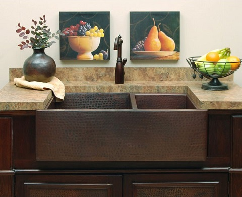 Hampton Farmhouse Sink SC-HD64-40 from Sierra Copper