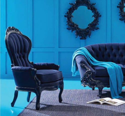 PolRey Armchair 605CJ French and Victorian Inspired Modern Furniture