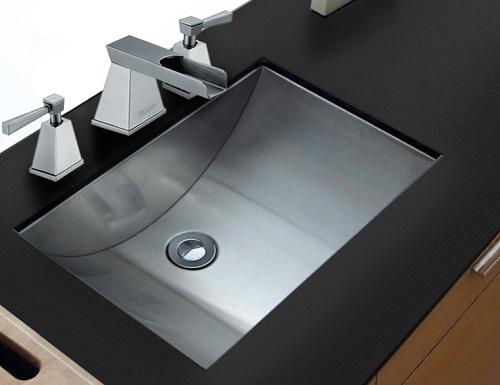 Ariaso Brushed Stainless Steel Undermount Bathroom Sink RVH6110 from Ruvati