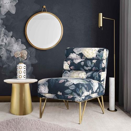 Kelly Floral Velvet Chair TOV-S6334 from TOV Furniture