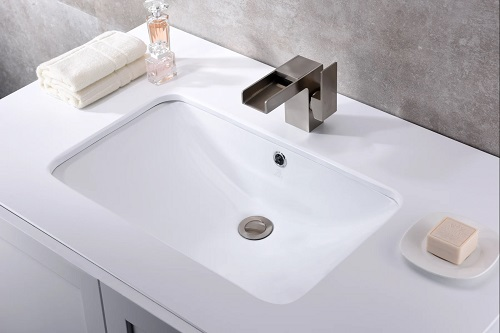 Lanmia Ceramic Undermount Sink Bassin LS-AZ105 from Anzzi