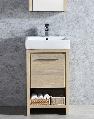 """Milan 20"""" Bathroom Vanity Set 014-20-20-MC from Blossom"""