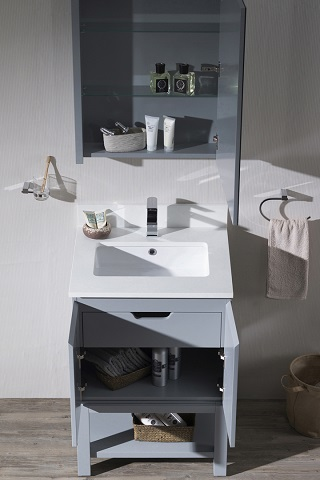 "Monaco 24"" Bathroom Vanity Set 000-24-15-MC from Blossom"
