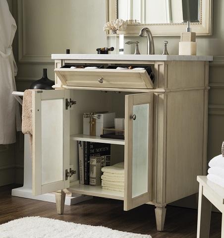 """New Brittany 30"""" Single Vanity 655-V30G-VV-AF from James Martin Furniture"""