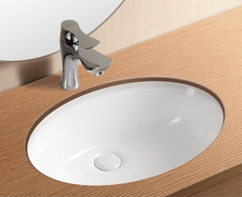 Oval Undermount Bathroom Sink CA4008 from Caracalla