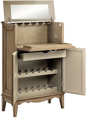 3-door Wine Cabinet 13551 from Stein World