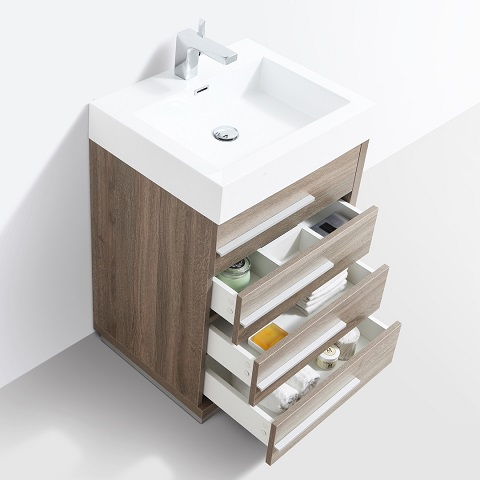 "Barcelona 24"" Bathroom Vanity Set 005-24-06 from Blossom"