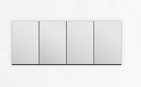 "Kube 80"" Mirrored Medicine Cabinet A2000 from KubeBath"