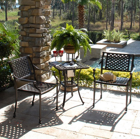 Savannah 3pc Bistro Set GF-LD1031-1-817 from AFD