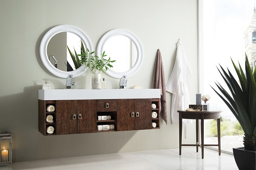 "Tiburon 59"" Double Bathroom Vanity 868-V59D-CFO-A from James Martin Furniture"