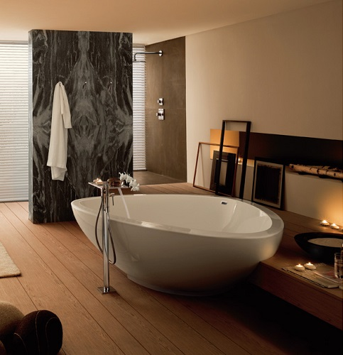 Axor Massaud Freestanding Tub 18950000 from Hansgrohe