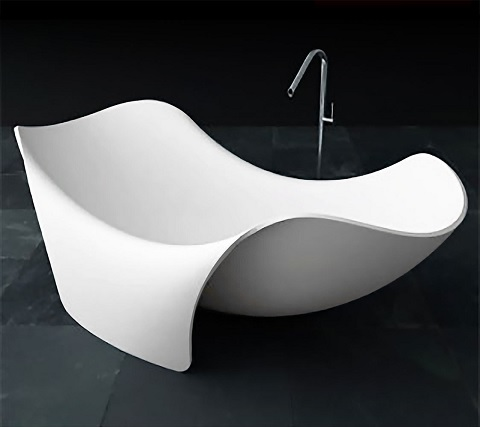 Cielo Freestanding Whirlpool Bathtub FT512-0026 from Anzzi