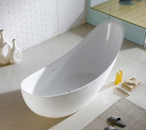 "Salto 8""1 Freestanding Bathtub KFST1271 from KubeBath"