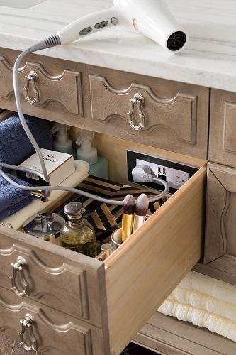 "Castilian 72"" Double Bathroom Vanity in Empire Gray 161-V72-EG from James Martin Furniture"