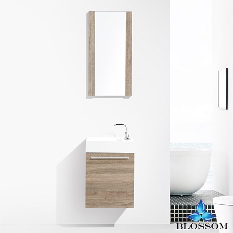 "Colmar 18"" Bathroom Vanity Set 004-18-05 from Blossom"