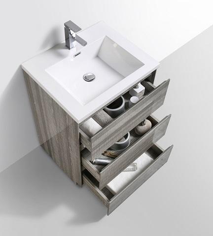 "Moa 24"" Bathroom Vanity MOA24-HG from Moreno Bath"