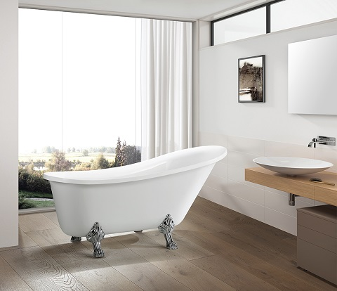 Freestanding Clawfoot Bathtub VA6310-L from Vanity Art