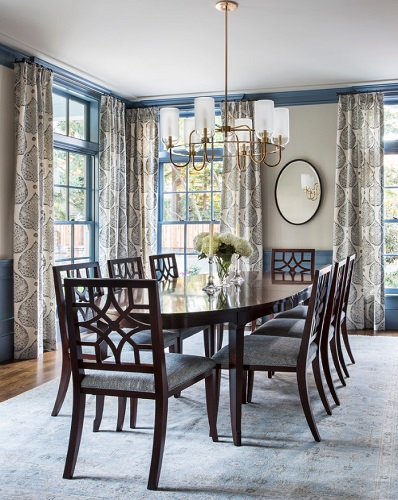 Traditional dining rooms are meant to seat a crowd for a formal sit-down dinner, but for many of us, these types of gatherings have become a rarity (by Artistic Designs for Living)