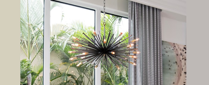 Get The Look Using Decorative Lighting To Add Definition To Your Greatroom