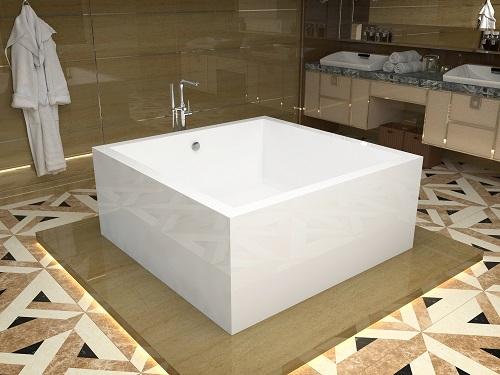 Apollo One PIece Acrylic Freestanding Bathtub FT-AZ400 from Anzzi