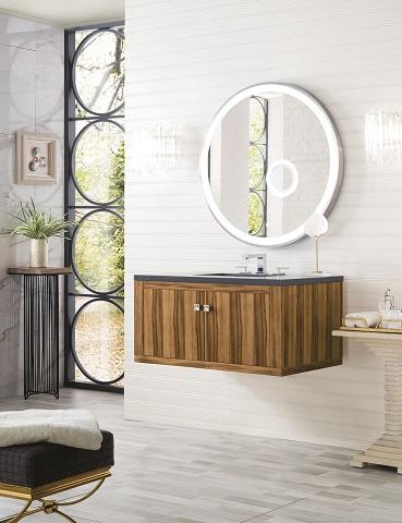 "Silverlake 36"" Bathroom Vanity in Natural Applewood 312-V36-APP from James Martin Furniture"