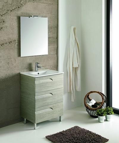 "Vitta 39"" Maple Modern Bathroom Vanity EVVN23-39MP from Eviva"