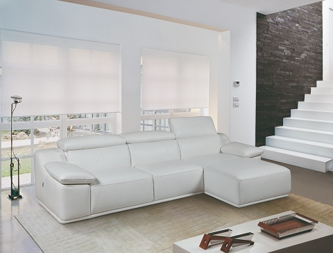Isabel Right Hand Facing Sectional RHF WHT from Bellini Modern Living