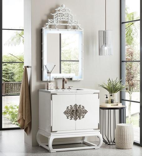 "Echo Park 30"" Single Bathroom Vanity 887-V30-GW from James Martin Furniture"