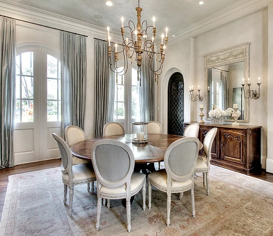 Dining Room With Upholstered Chairs, Upholstered Dining Room Chairs With Arms