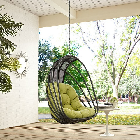 Whisk Outdoor Patio Swing EEI-2656-PER-SET from Modway Furniture