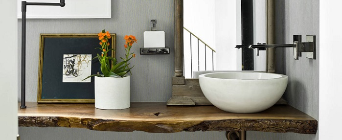 Big Style On A Small Budget Six Trendy Guest Bathroom Ideas