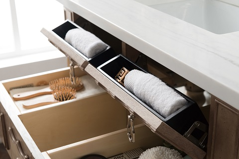 "Castilian 36"" Single Bathroom Vanity in Empire Gray 160-V36-EG from James Martin Furniture"