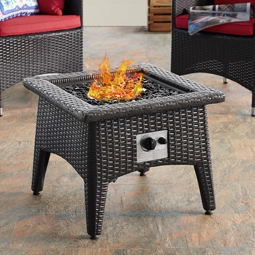 Vivacity Outdoor Patio Fire Pit Table EEI-2990-EXP from Modway Furniture