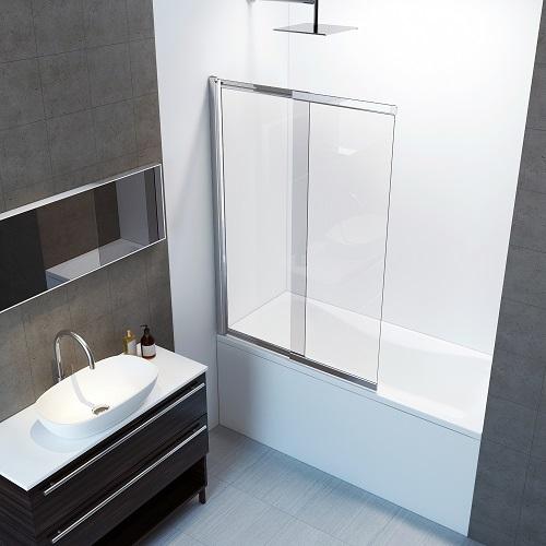 Amara Bath Screen Shower Enclosure BS-019-CHR from A&E