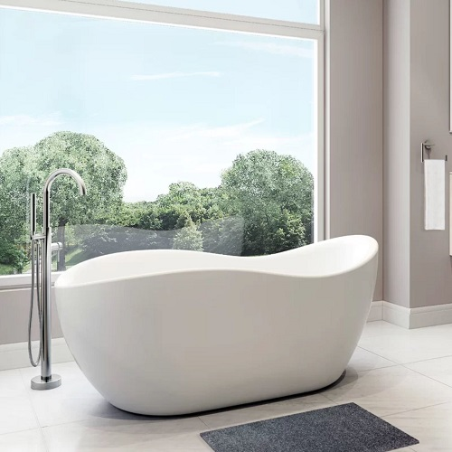 "Axel 68"" Freestanding Tub With Faucet BT-770 from A&E"