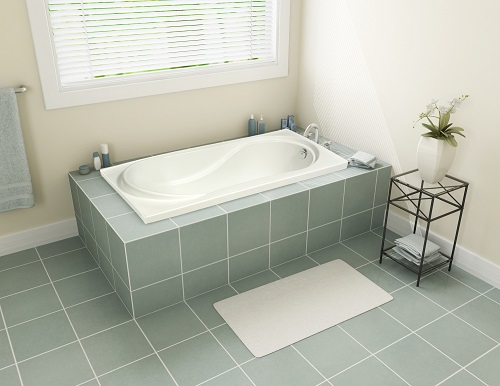 "Tacoma 60"" Drop-In Bathtub BT-0001 from A&E"