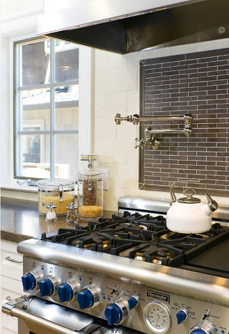 Add A Stove Side Pot Filler To Your Kitchen