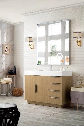"""Bainbridge 48"""" Single bathroom Vanity in Tribeca Oak 368-V48-TBO-MW from James Martin Furniture"""